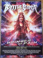 BATTLE BEAST big POSTER !! Amaranthe-Powerwolf-Sabaton-Hammerfall-Xandria-Accept