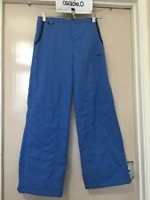 Kid's Nike Snow Ski Insulated Jogger Pants With Side Zips Blue Size L (US 14)