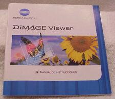 User Manual = Konica Minolta DiMage Viewer (spanish)
