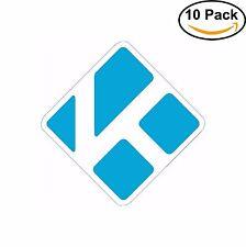 Kodi Media Player MPC Sticker Stickman decal vinyl sticker 10 Stickers