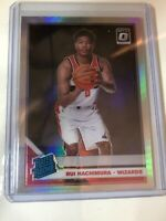 2019-20 Optic Rui Hachimura RC Holo Silver Prizm Refractor Wizards