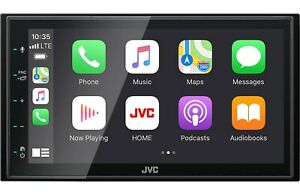 """New JVC KW-M56BT 2 DIN 6.8"""" Media Player USB Mirroring Android iPhone Bluetooth"""