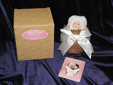 """ANNE GEDDES BABY BUNNY IN """"CHOCOLATE"""" EASTER EGG 2000 CAUCASIAN"""