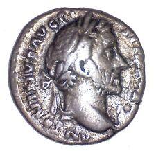 Antonino Pio 86-161 d.C.- Denario autentico, Pace