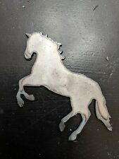 Metal Horse for Crafting Craft Projects Metal Horse Cutout Rearing Horse