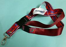 Malaysia Airlines Chief Stewardess RED Batik Lanyard Aviation Aeroplane Aircraft
