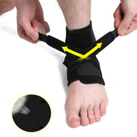 New Adjustable Ankle Support Compression Brace Sport Injuries Sprain Pain Relief