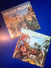 2 Factory Sealed Vintage 1978-79 The Village People Albums Go West & Cruisin'