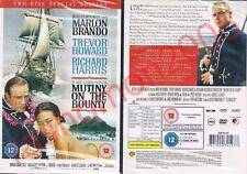DVD MUTINY ON THE BOUNTY (1962) Marlon Brando Trevor Howard Region 2 OOP UK NEW