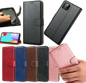 For Samsung A22 5G Phone Case Leather Flip Magnetic Stand Gel Wallet Book Cover