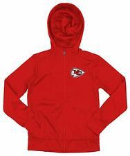 Outerstuff NFL Youth/Kids Kansas City Chiefs Performance Full Zip Hoodie