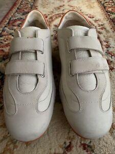 Cole Haan NikeAir Leather Adjustable Monk Strap Gray Orange Men's Shoes Size 11M