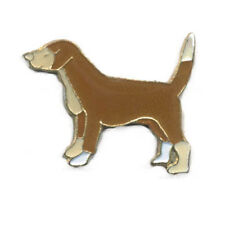Wholesale Lot of 12 Hound Dog Brown Hunting Dog Lapel Hat Pin FAST USA SHIPPING
