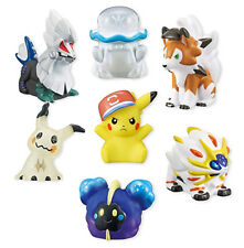 Pokemon Sun & Moon Kids Solgaleo Ver. Character Candy Toy Figure SET 12ct Anime