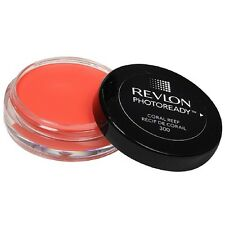 1 X NEW REVLON PHOTOREADY PHOTO READY CREME BLUSH ❤ 300 CORAL REEF ❤ GLOSSI