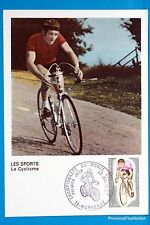 CYCLING MARSEILLE FRANCE Postcard Maximum FDC Yt C 1724