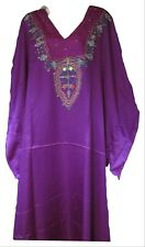 Vermont Country Store Purple Caftan Dress with Naqui Ny Label One Size