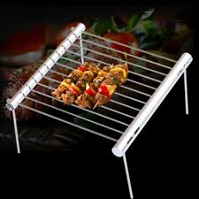 Portable Stainless Steel Mini Pocket Folding Bbq Grill Barbecue Accessories Tool