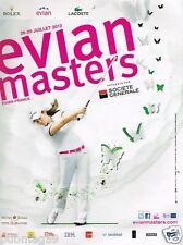 Publicité advertising 2012 Golf Evian Masters