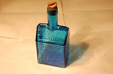 Vintage Wheaton NJ Cobalt Blue E C Booz's Old Cabin Whiskey Bottle Philadelphia