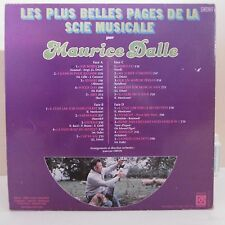 """2 x 33T Maurice DALLE Vinyles LP 12"""" PLUS BELLES PAGES SCIE MUSICALE -DEESE 910"""