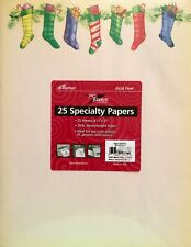 "Ampad Decorative Holiday Computer Paper Stationery - Heavyweight - 8.5x11"""