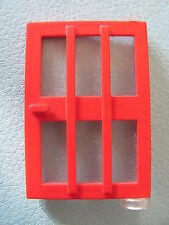 LEGO 73312 @@ Door 1 x 4 x 5 Right with 6 Panes @@ RED @@ ROUGE @@ 6374