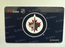 Tim Hortons NHL Winnipeg Jets Card