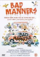 BAD MANNERS KAREN BLACK MARTIN MULL ANNE DE SALVO PEGASUS UK REGION FREE DVD NEW
