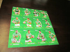 2013 NRL TRADERS CANBERRA RAIDERS COMMON TEAM SET 12 CARDS DUGAN THOMPSON