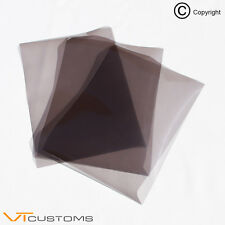 3 x A5 sheets Light Smoke Headlight Film for Fog Lights Tint Car Vinyl Wrap
