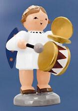Angel Drum Cymbals German Figurine FGK756X33