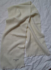-Superbe Foulard   Echarpe LANCOME  laine  TBEG  vintage scarf