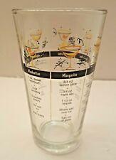 Bartender Mixed Drink Cocktail Recipe Heavy Tumbler Bar Glass