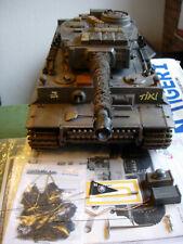 New listing Heng Long 1/16 German Tiki Tiger 1 Tank R/C Custom-Paint Mpn 0678
