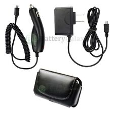 Wall+Car Charger+Phone Case for ATT LG c900 Quantum Optimus L5 M+ Mach 900+SOLD