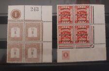 Palestine ISRAEL EEF BLOCKS stamp see photos