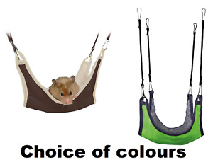 TRIXIE HAMMOCK FOR HAMSTERS MICE AND SMALL ANIMALS EASY TO HANG 18 X 18 CM NEW