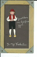 AY-075 - Dutch Valentine's Day, Raphael Tuck, 1907-1915 Postcard Divided Back
