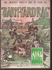 Song Hits of the Day - Barnyard Rag - 18 pages of songs and lyrics Sheet Music