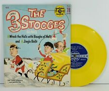 The 3 Stooges Sing Christmas Wreck The Halls Jingle Bells 78rpm Golden Record622