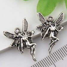 30Pcs Tibetan Silver Fairy Pendants Charms 21*15mm 1A1823