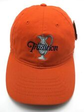 SUPERSTITION MOUNTAIN (AZ) / THE TRADITION PGA GOLF orange adjustable cap / hat