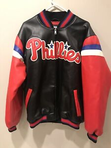 MLB Phillies Jacket Genuine Merchandise G III Size Adult Large