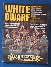 WHITE DWARF-AGOSTO 2015-Issue 79-Games Workshop WARHAMMER pubblicazione.
