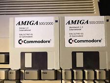Workbench Version 1.3 Amiga, 2 Floppy Disk 3,5