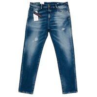 JACK & JONES Homme 'S Eric Coupe Fuseau Jeans Bleu Taille W32 L32