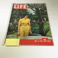Life Magazine:5/12/58 Ex-Queen Soraya In Bermuda Garden Banished Queen's Holiday