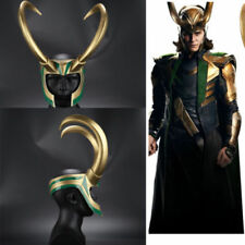 Movie Thor Ragnarök Loki High PVC Helmet Halloween Fancy Dress Party Mask Props