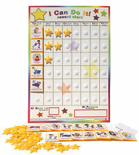 Spanish/English I Can Do It reward chart, Chore, behavior, incentive, job, potty